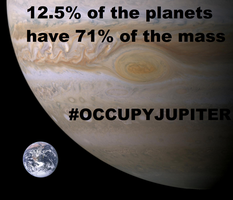 Occupy Jupiter by KM-Mafia