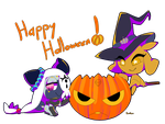 Happy Halloween by Kamiiberu