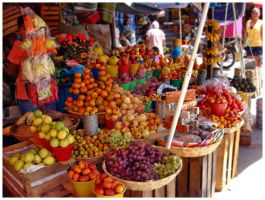 The Market by Mae-Galeana
