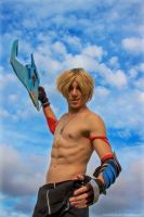 Tidus - DIssidia Final Fantasy by LordProtoMan