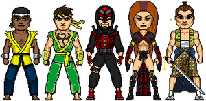 Edo Marvel: Fighters by Red-Rum-18
