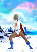 Powergirl, Ready and Waiting by dullboy