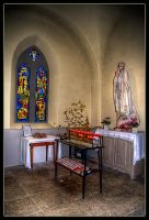 HDR Light a candle by sandpiper6