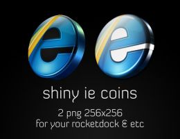 Shiny IE Coins by drgirlfriend