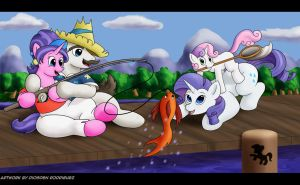 Family Fishing Trip by Digoraccoon