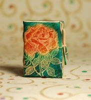 Petite Rose Notebook by gildbookbinders