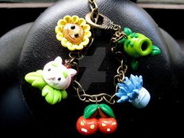 plants vs zombies bracelet 2 by gutterlily10