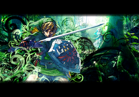 The Legend Of Zelda - The Lost Woods by S3NTRYdesigns