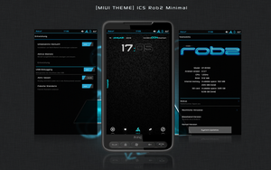 MIUI THEME ICS Rob2 Minimal by rob2web