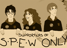 Supporters of S.P.E.W Only by Rotae