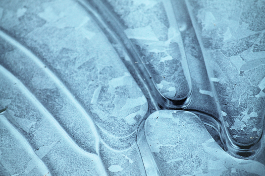 Abstract in Ice by DBoydPhotography