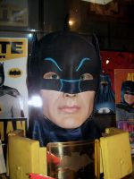 ADAM WEST BUST WITH COWL by supersebas