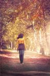 autumn poetry by Invisiblesk