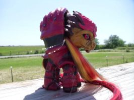 Wrex Pony by CustomsByKatika