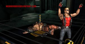 Duke Wins again by Wesker500