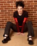 Red and Black Girl Stock 7 by kristyvictoria