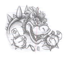 Bowser is teh SEX on Wii by leksbronks