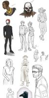 Wilde Life - Sketches 003 by Lepas