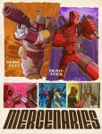 deadpool and boba fett : mercenaries by m7781