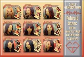 SNSD Mr. Mr. Polaroid Scans Folder Icon Pack 1 by Rizzie23