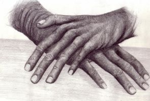 Hands by coeurdartiste