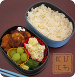 Bento - Panda Nuggets by Chef-Kuching