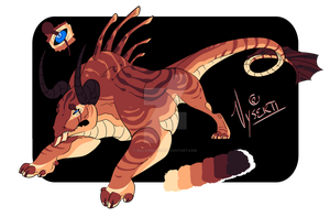 Bull Dragon Design Auction - CLOSED by Vholkrum