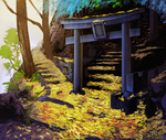 Lost Shrine Sketch by daPatches