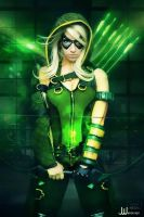 Genderbent Green Arrow by Its-Raining-Neon