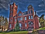 Old Hurley, WI. Court House by trollmongo