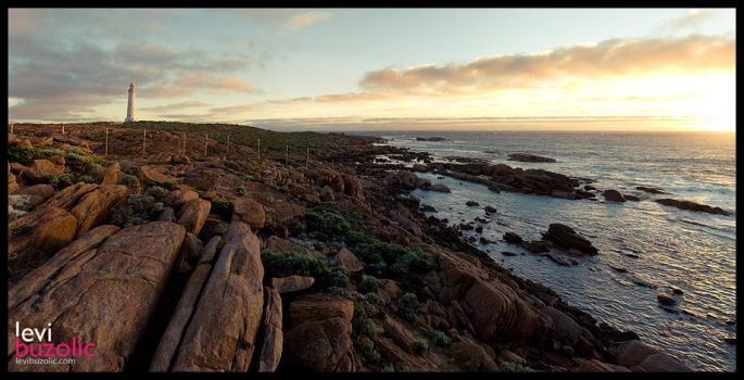 Cape Leeuwin Lighthouse by levinet