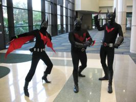 Megacon 09-  Batman Triplets by Prota-Girl
