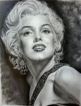 Marilyn Monroe-golden era 11th by Hongmin