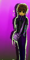 purple and green by anime-begginer12