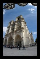 Notre Dame Panorama by Blofeld60