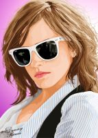 Emma Watson + sunnies Vector by babyonbored