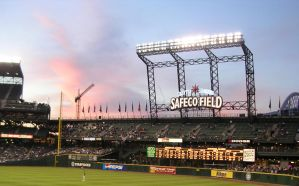 Sunset at Safeco by mercurymorning