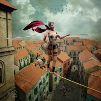 The Tightrope Walker by Enchanted-April