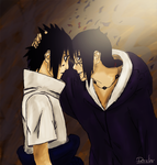 Sasuke and Itachi by Dander97