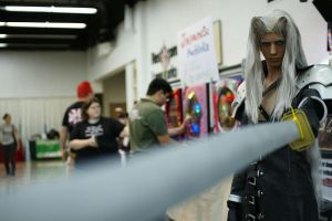 Sephiroth at Supercon by DartFeld
