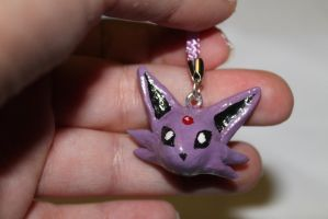 Espeon Cellphone Strap by enyce122