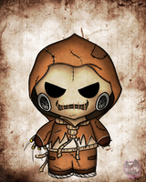 Chibi ScareCrow vs2 by FerociousApplesauce
