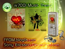 w700 music by sonyericsson