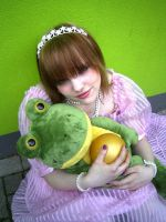 The frog king's princess. by Mary--Sue