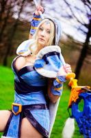 Crystal Maiden at your service by DesireeSkai