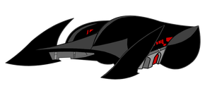 Batman Beyond Batmobile by Alexbadass