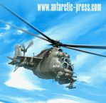 Hind helicopter by joewight
