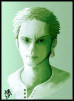 "OP - ""Realistic"" Zoro by Sanogirl"