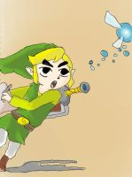 Toon Link by dawnleapord
