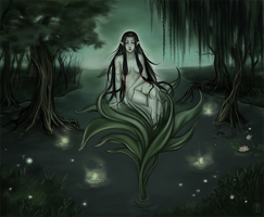 Swamp Fairy by Blackdusk